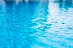 Close-up of the surface of a pool