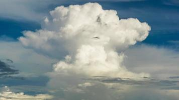 Big cumulus cloud