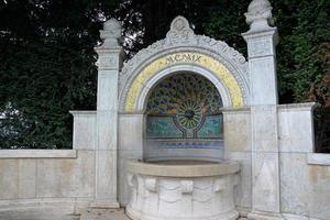 Fountain in Zurich