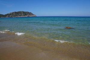 The Mediterranean Sea at Ibiza