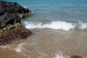 Rocks in the sea photo