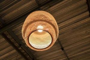 Illuminated ceiling lamp  photo