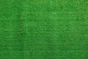 Green artificial grass or terf