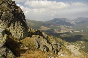 Rocky peak in Slovakia photo