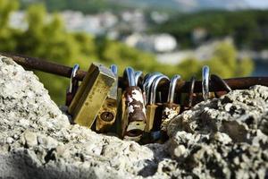 Old rusty locks
