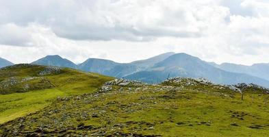 Mountain peaks in Austria photo