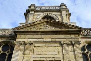 Facade of a catholic church