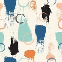 Abstract paint brush strokes surface pattern
