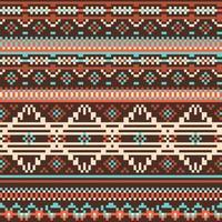 Ethnic Tribal Seamless Pattern vector