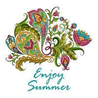 Paisley Decorative Banner vector