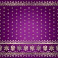 Indian-style background pattern vector