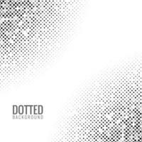 Fondo de textura de semitono punteado abstracto vector
