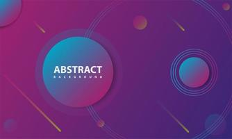 Geometric Purple Gradient Background with Abstract Style vector