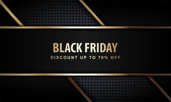Black Friday Poster with Luxury Style
