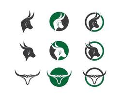 Cow head image  vector