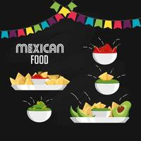 Mexican food design