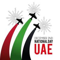 UAE banner to celebrate the national day