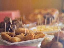 Catered finger foods photo