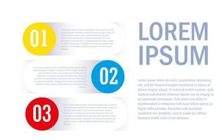 infografía con números e iconos.