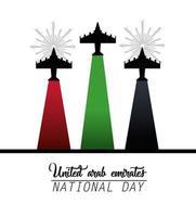 celebración del día nacional de los emiratos árabes unidos