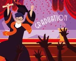 Graduating students in celebration design