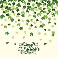 St. Patrick day background banner
