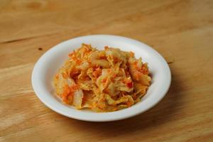 Spicy cabbage dish
