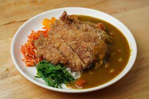 Fried pork dish