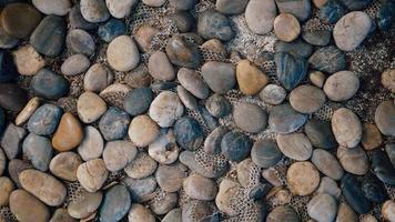 Neutral colored pebbles