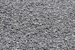 Gray gravel background photo