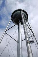 Steel water tower