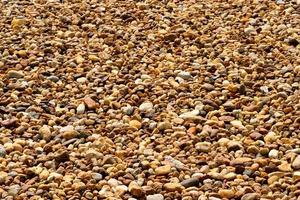 Brown pebble background photo