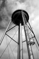 Water tower, low angle photo