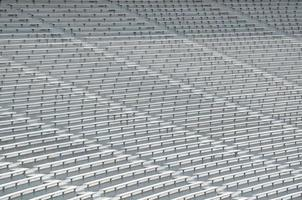 Seats in the stadium