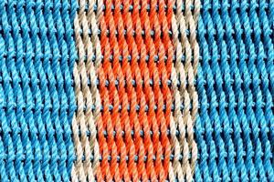 Vibrant color fabric photo