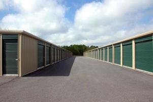 Green storage units