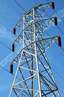 tour de transmission électrique photo