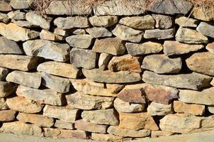 Rock wall background photo