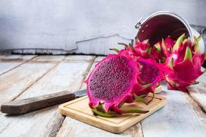 Healthy dragon fruit