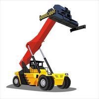 veículo de levantamento pesado para construção
