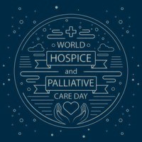 World Hospice and Palliative Care Day Liner Poster