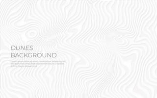 design de efeito de papel de dunas brancas
