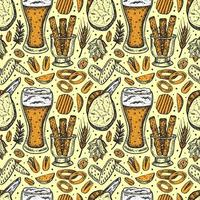Oktoberfest de patrones sin fisuras, textura