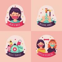 New Normal Habit Cute Stickers