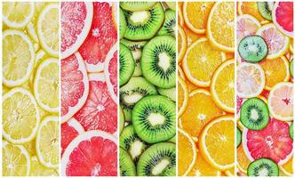 citrus-fruit slices fresh