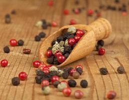 Peppercorns Background photo
