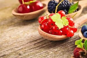 Fresh juicy berries photo