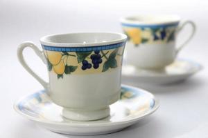 Tea cups photo
