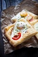 Puff pastry sandwiches