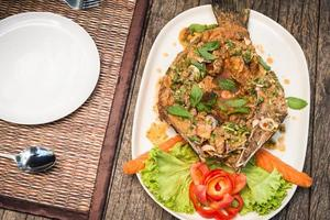 Spicy Snapper Fried